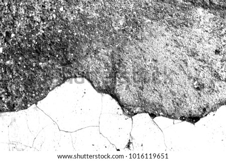 cracks, black and white texture