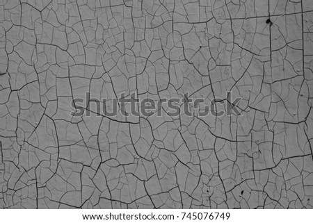 Cracks network texture or background  Grunge grayscale cracked paint  May  use in artworks. Cracks Lighting Networks Roots On Dark Stock Vector 670120402