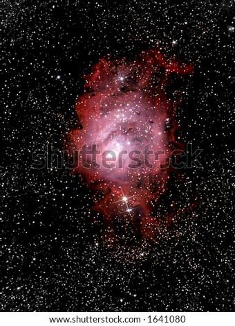 Cradle of Stars - stock photo