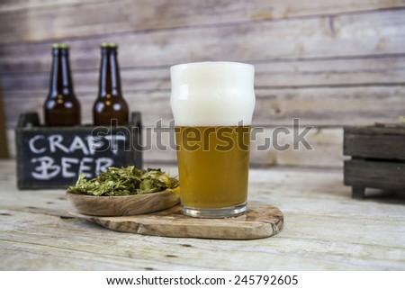 Craft Beer - stock photo