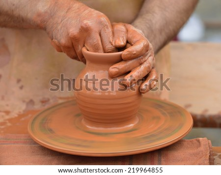 crafts and ancient crafts: pottery