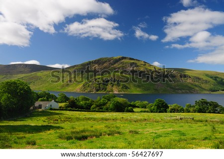 Crag Fell and Ennerdale, English Lake District