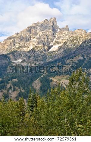 Craggy Mountain - stock photo