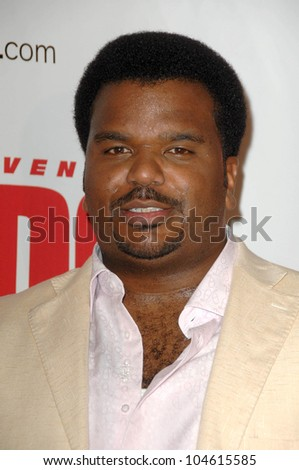 Craig Robinson  at the Las Vegas Premiere of 'The Goods Live Hard, Sell Hard'. Planet Hollywood Resort and Casino, Las Vegas, NV. 08-12-09 - stock photo