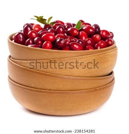 Cranberries. Selective focus. - stock photo