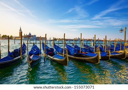 Crand Canal. Venice. Italy.