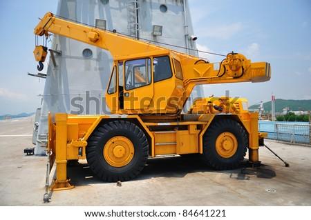 crane - stock photo