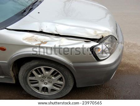 Crash - stock photo