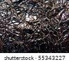 Crashed metal texture - stock photo