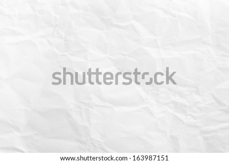 Crashed paper texture - stock photo