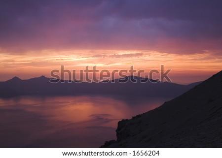 Crater Lake 4 - stock photo