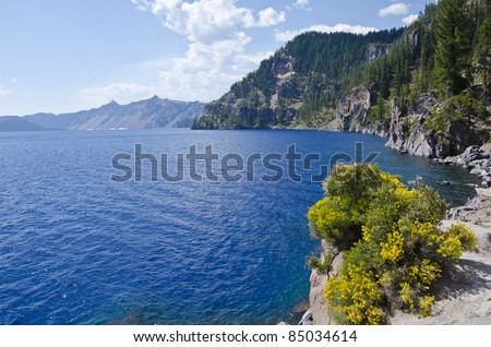 Crater Lake Oregon USA - stock photo