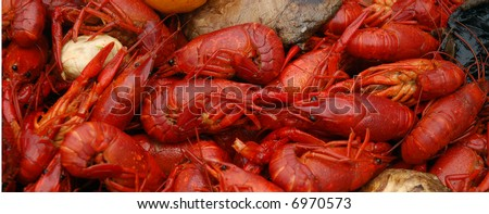 Crawfish Boil New Orleans - stock photo