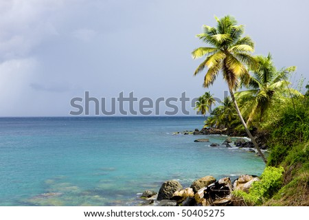 Crayfish Bay, Grenada - stock photo