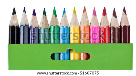 Crayon - stock photo