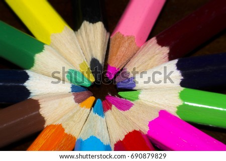 Crayon is colorful
