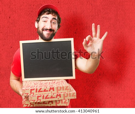 crazy dealer happy expression - stock photo
