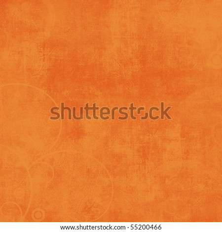 Crazy Summer Textured Orange Solid Background - stock photo