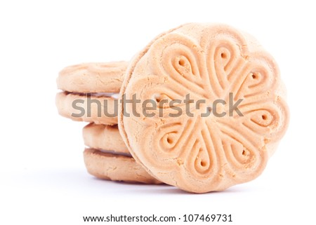 cream biscuit