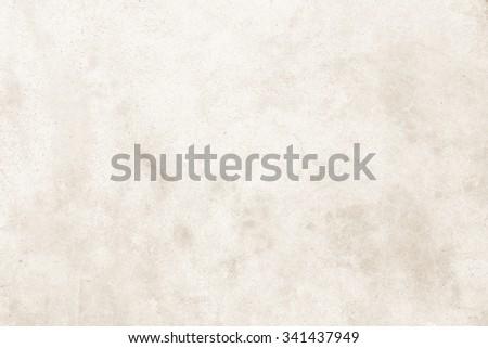 Cream concrete wall background - stock photo