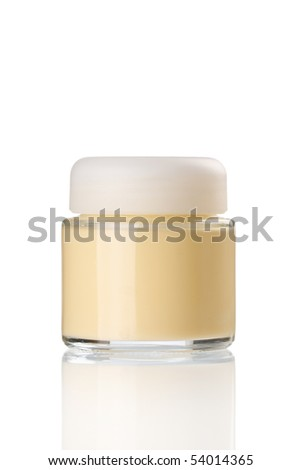 cream in the jar