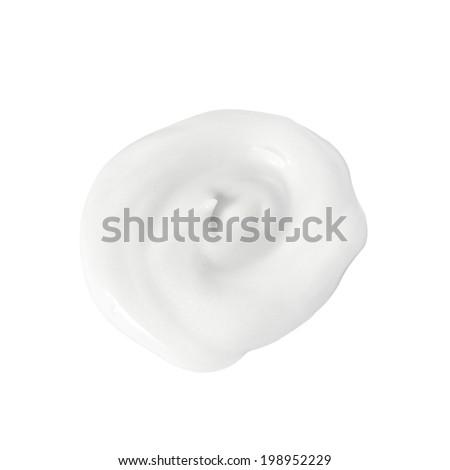 Cream isolated  - stock photo