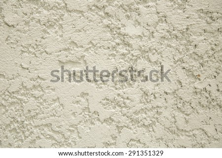 cream mortar wall texture. - stock photo