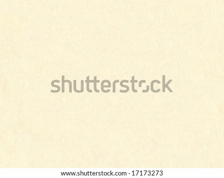 Cream textured paper - stock photo