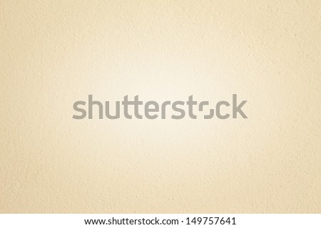 Cream textured wall - stock photo