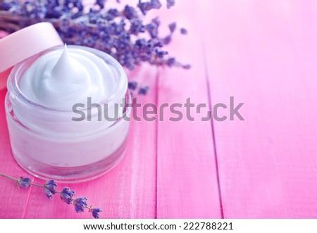 creame for body - stock photo