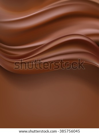 creamy chocolate vertical background. raster