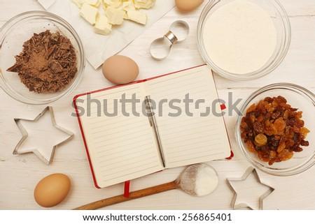 Creating a Recipe - stock photo