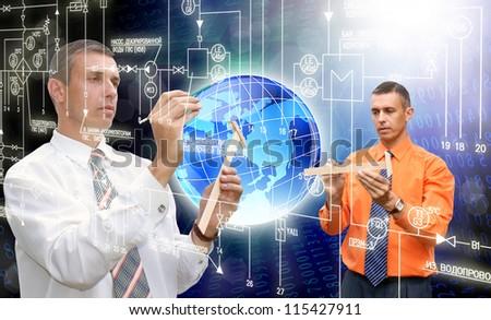 Creation innovative computers technology - stock photo