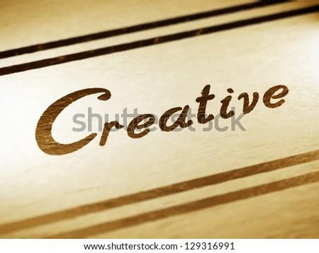 Creative - stock photo