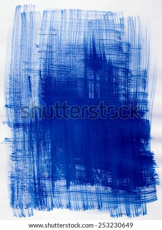 Creative abstract mixed media isolated on paper background or texture - stock photo