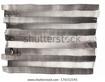 Creative abstract mixed media on paper background or texture - stock photo