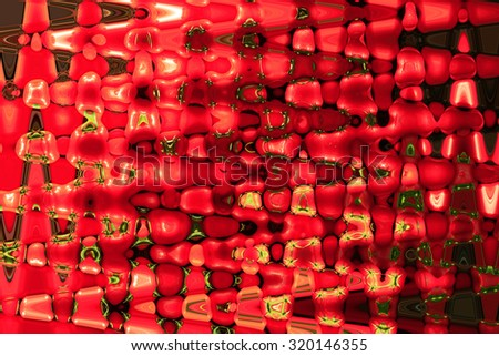 creative abstract red texture with dark strips
