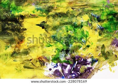 Creative background, Art, Contemporary art, Fantasy art, Universe illustration - stock photo