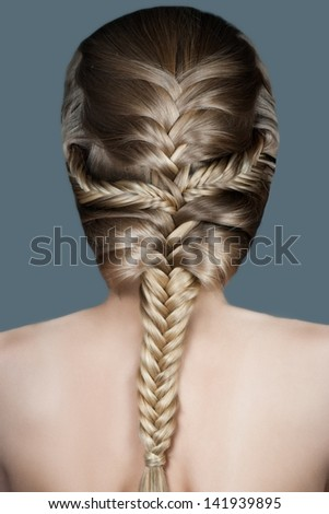 Tremendous Braided Hair Stock Photos Royalty Free Images Amp Vectors Hairstyles For Women Draintrainus
