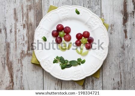 Creative children's food - stock photo