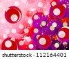 Creative circles - stock photo