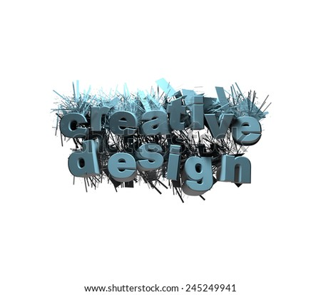 creative design logos billboard text graphic render cover banner art