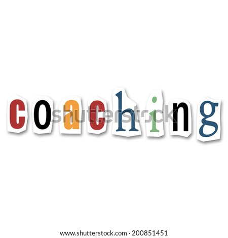 creative divided word - coaching
