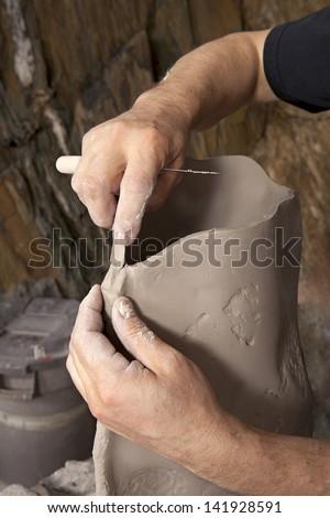 Creative hands - stock photo