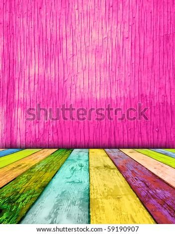 Creative Jolly Room - stock photo
