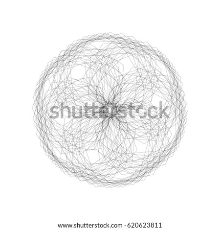 Creative Mandala For Coloring Book And Adults