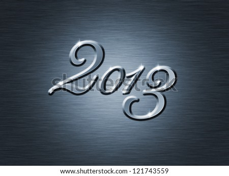 creative  new year 2013 design.