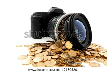 Creative photography, art, business and way of life - stock photo