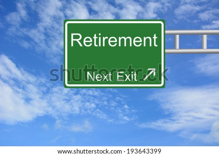 Creative Retirement Exit Only, Road Sign