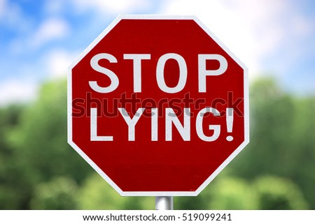 Stop Lying Stock Images Royalty Free Images Amp Vectors